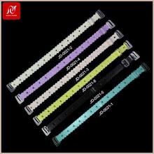 Fashion multicolour ladies fancy skid resistance elastic underwear tpu bra strap