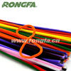"""12"""" length assorted colors jumbo loopy chenille stem craft pipe cleaners"""