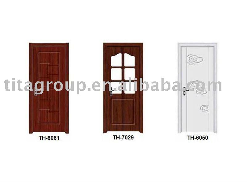 Pu peinture bois porte int rieure portes id du produit for Peinture porte interieure