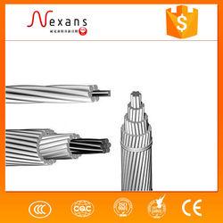 2015 hot sale ACSR bare conductor aluminum core low voltage power cable