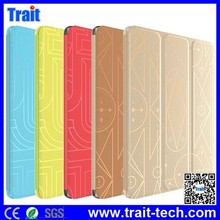 From trait company NO MOQ,support mix order Double Sides HOCO TPU Leather case, PU Leather Case for iPad