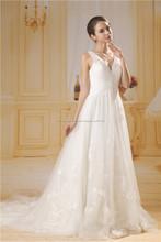 vestido de novia vestido de fiesta paillette con correa