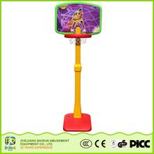 Bairun Factory Direct Kids Sports Goods Indoor Medium Size Height Adjustable Basketball Stand
