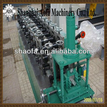 Angle steel roll forming machine with punching holes light steel framing machine