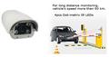 alta megapíxeles a prueba de agua de la placa de licencia de reconocimiento de la cámara ip para la carretera,