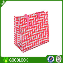 custom print foldable pp woven anchor beach bag GL136