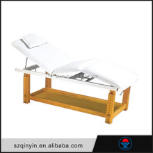 New china products spa bed wooden thai massage bed