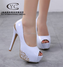 Alibaba China 2015 PEONY Lady Faction Shoe Sexy Casual Shoe high heel Dress Pumps Wholesale Products PURPLE