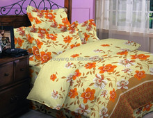 Bright Color Wholesale Plain/Twill Weave 100% Polyester Pigment Bed Sheet Fabric for Home Textile