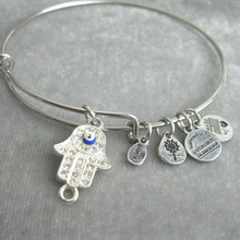 adjustable helios eyes Alex and Ani with palm