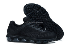 black color men running Shoes 2010 design 20K run shoes Free Shipping