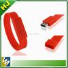Bulk Cheap 2GB,4GB,8GB,16GB silicone usb bracelet