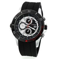 CURREN brand fashion watch men's fashion japan movement quartz calendar waterproof silicone watch
