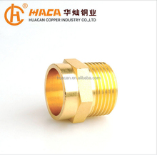 Brass Welding Joint Quick Connector Connect Copper Pipe