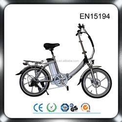 36V 250W 20 inch lightweight folding electric bicycle super pocket e - bike