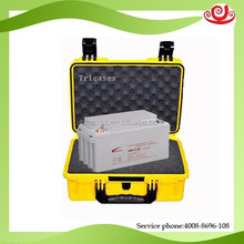 Tricases M2720 custom logo ShangHai OEM/ODM 12V battery waterproof carry hard case