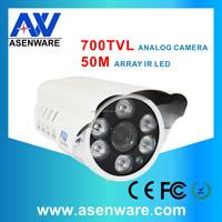 Safety Watching Bullet Camera 700TVL Analog CCTV Camera System