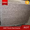 Chinese Cheapest Peach Red Granit G687 China