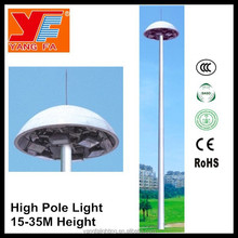 led 25m high mast light pole price for airport highway square basketball court