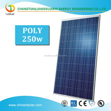 Top quality for poly 250w solar panel good price per watt