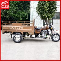 Guangzhou manufacturer new design 200cc gas high quality motorcycles/three wheel cargo tricycle in the coming market