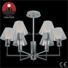 special iron pendant light/modern family glass chandelier light E27