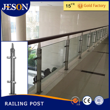 stainless steel frameless glass balustrade
