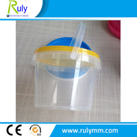 Clear/transparent candy packing plastic buckets for sale