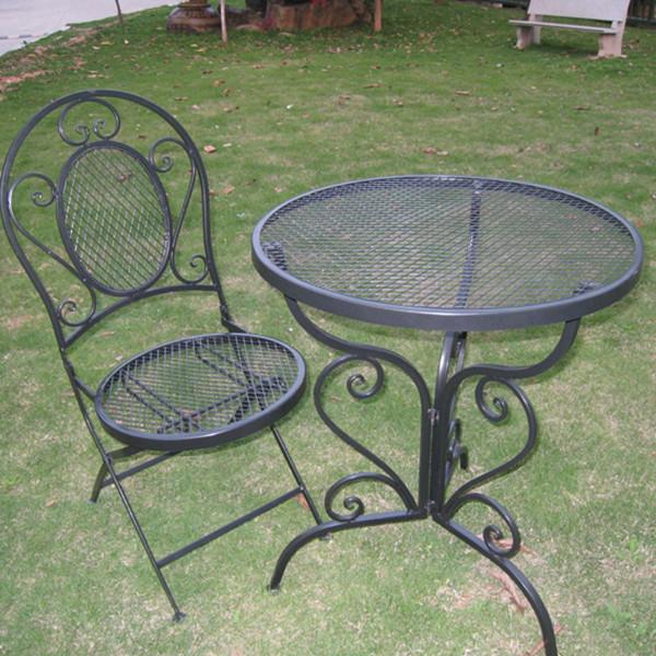Hot Selling Shabby Chic Black Metal Mesh Patio Furniture Buy Metal Mesh Patio Furniture Mesh