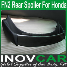 FN2 Carbon Fiber Rear Roof Spoiler, Car Trunk Lip Spoiler For Honda Rear Spoiler