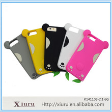 case for apple iPhone 6 customized logo and color silicone rubber animal silicone phone case