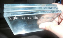 10+10mm low iron tempered laminated security glass