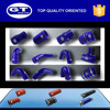 high performance blue vehicle vmq tube for automobile/ large range of sizes/ 2 years warranty