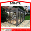 commercial glass houses lowes sunrooms/best seller sunrooms with laminated glass /aluminium sunrooms