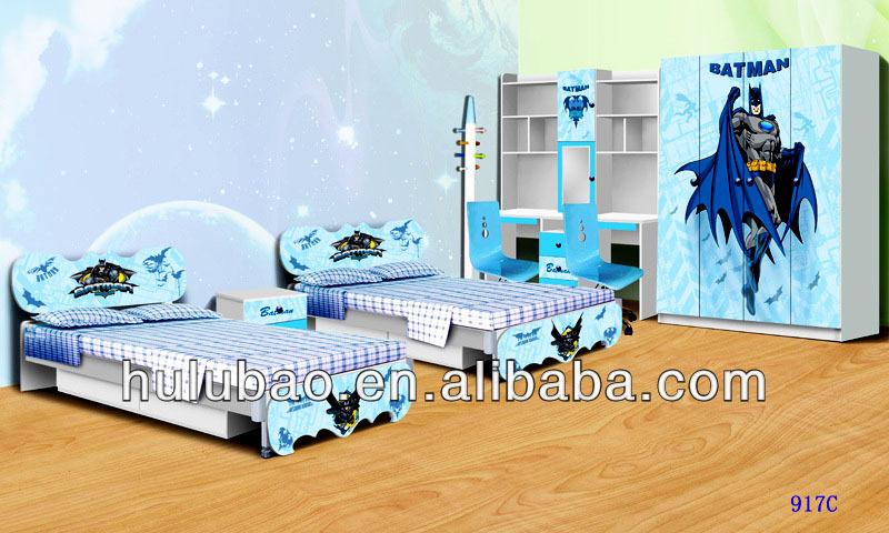 Hot vente spiderman batman enfants meubles enfants - Set de chambre pas cher ...
