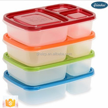 China Wholesale 2015 Hot Sale Transparent Cheap Disposable Plastic/plastic lunch boxes factory Plastic kids lunch boxes