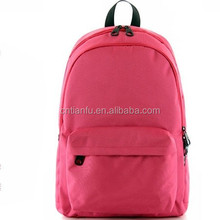 2015 High quality China manufacture polyester school backpack