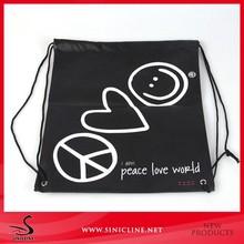Sinicline logo print custom drawstring backpack