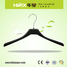 HBX509 Customized Color Suit Hanger Plastic Clothes Hanger With Metal Hook