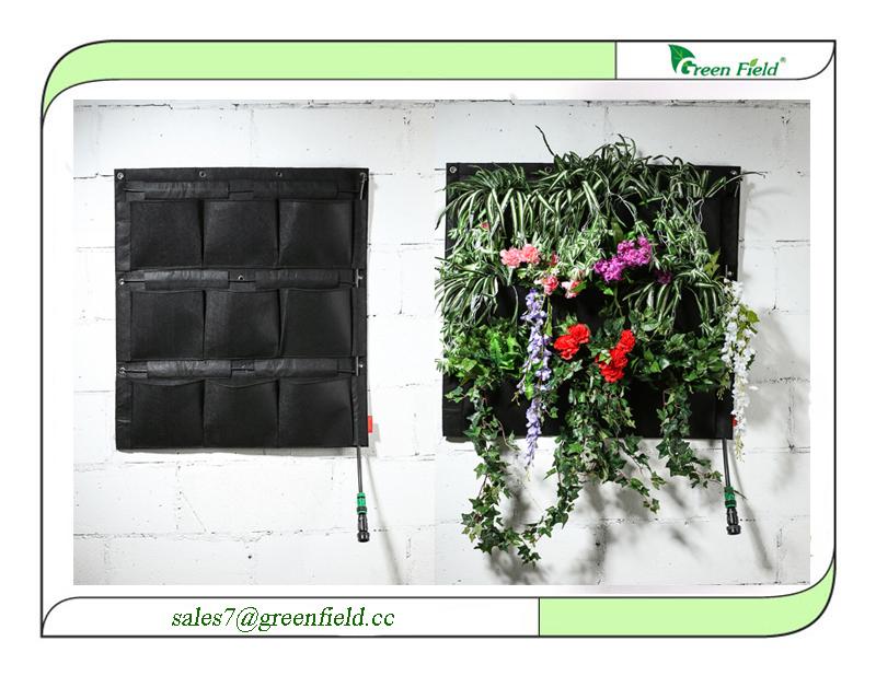 Verticale tuin toren met drip irrigatie systeem for Verticale tuin systeem