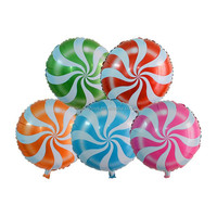 China hydrogen mylar foil candy shaped balloons