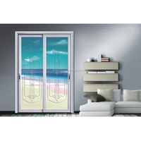 Waterproof Glass Sliding French Door, Horizontal Sliding Patio Door