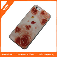 3D drawing customized cell phone case for iphone 5