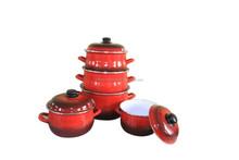 casserole enamel casserole enamel cookware with high end decal
