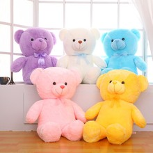 different color bear for people