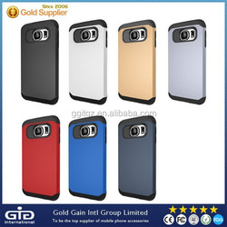 Hot matte armor shockproof case for Samsung for galaxy S6 G920