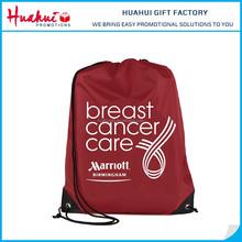 Cheap Promotion 190T Polyester Drawstring Bag