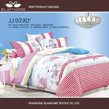 100% polyester disperse printed cheap china wholesale bedding duvet cover set