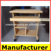 Fotos de venda quente em madeira morden escritório mesa do computador/mesa do computador/mesasde computador atacado de imagem