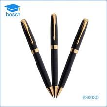Cheap goods print logo ballpoint pen fancy metal pens